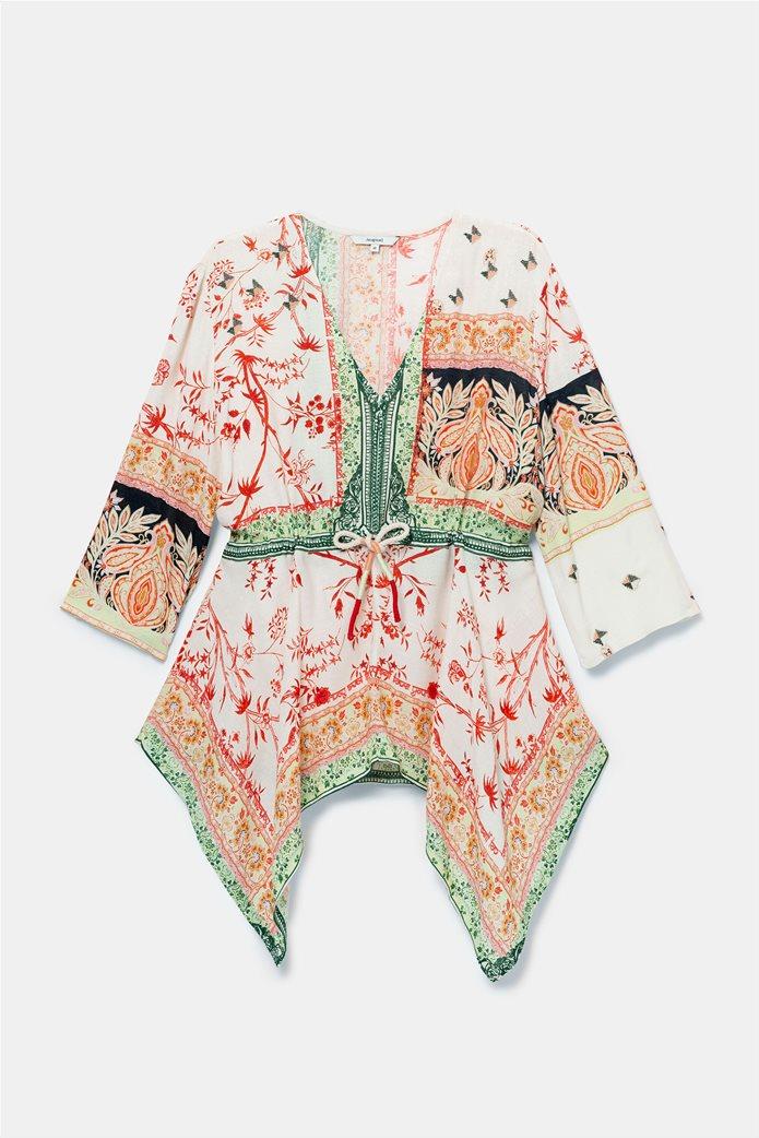 "Desigual γυναικεία μπλούζα με ethnic prints ""Mantua"" 4"