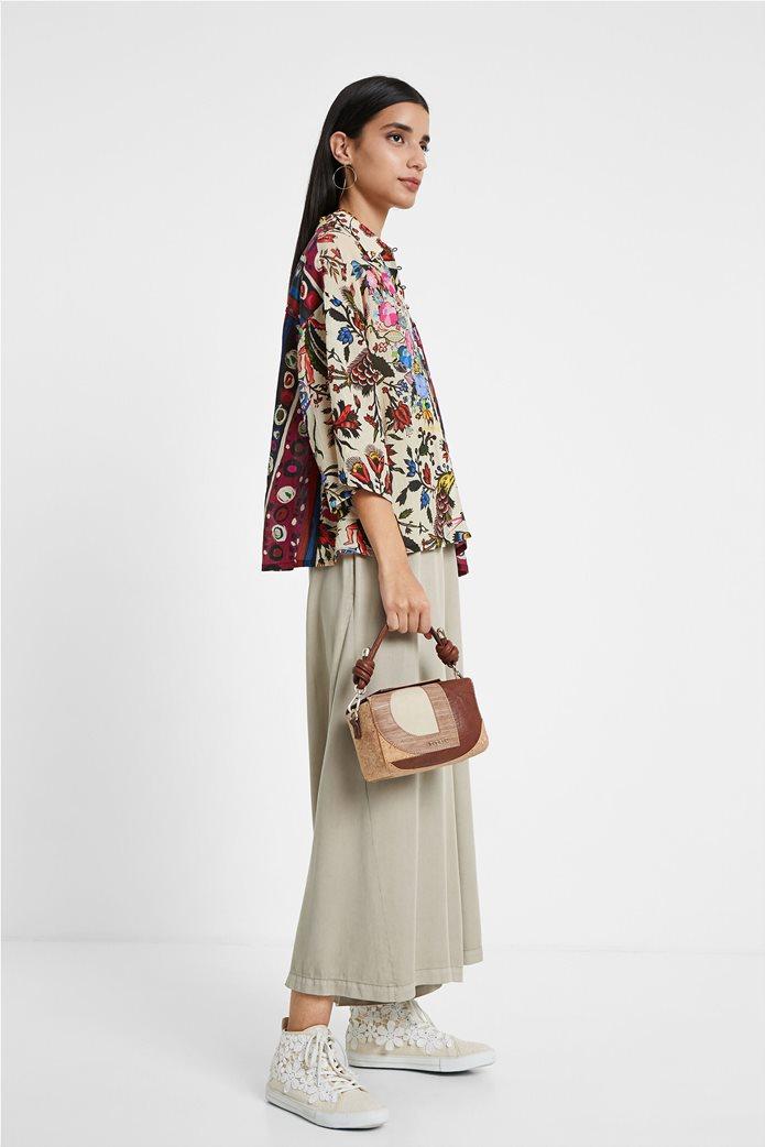 "Desigual γυναικείο εμπριμέ πουκάμισο ""Florence By M. Christian Lacroix "" 2"