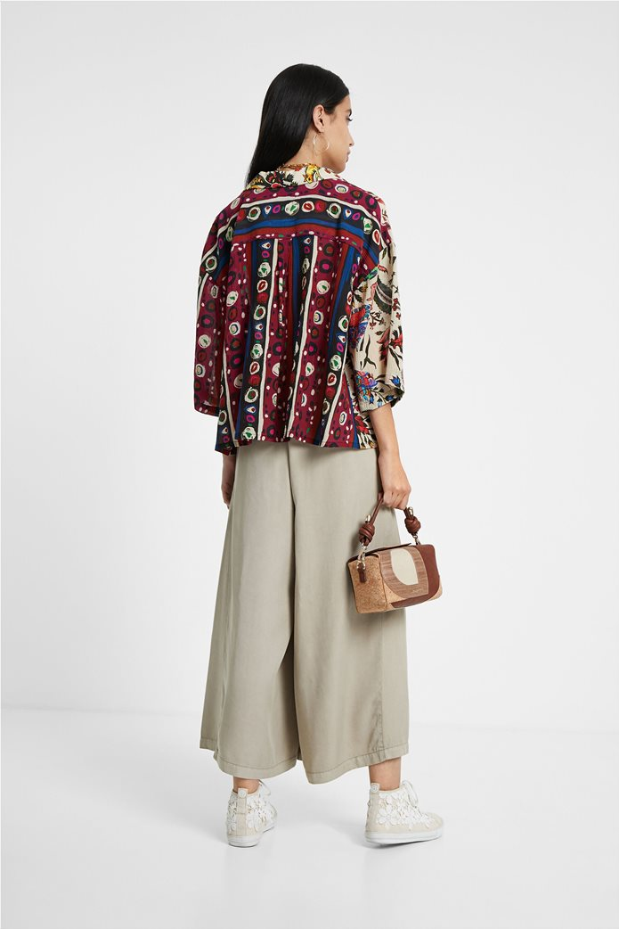 "Desigual γυναικείο εμπριμέ πουκάμισο ""Florence By M. Christian Lacroix "" 3"