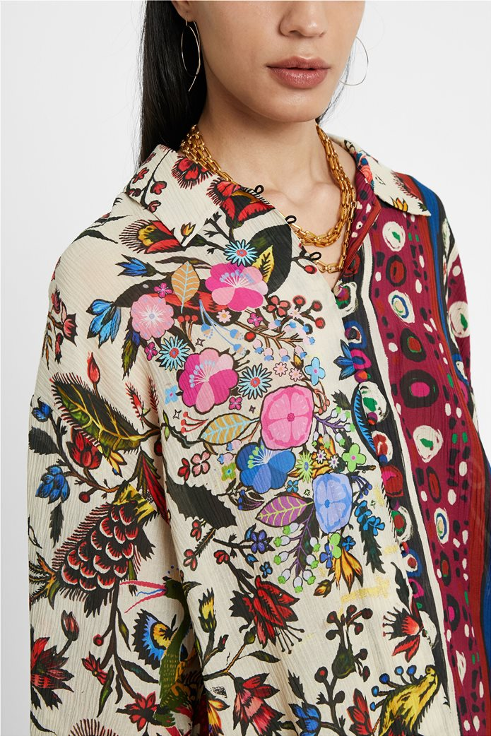"Desigual γυναικείο εμπριμέ πουκάμισο ""Florence By M. Christian Lacroix "" 4"