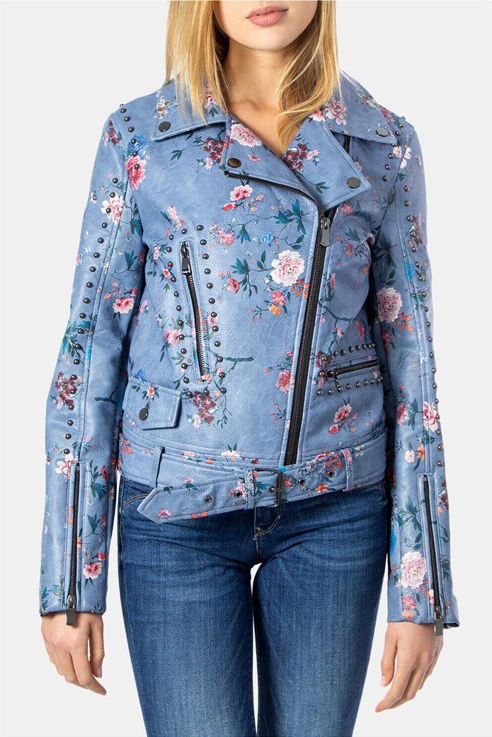 "Desigual γυναικείο floral jacket ""Nassau"" 0"