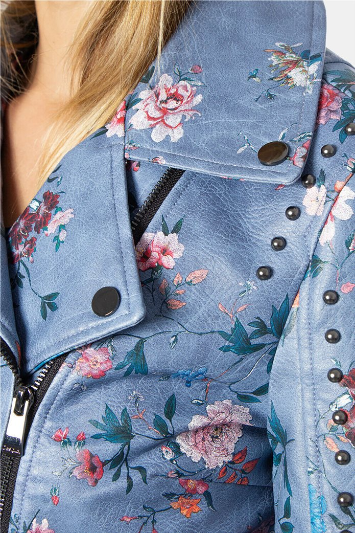 "Desigual γυναικείο floral jacket ""Nassau"" 1"