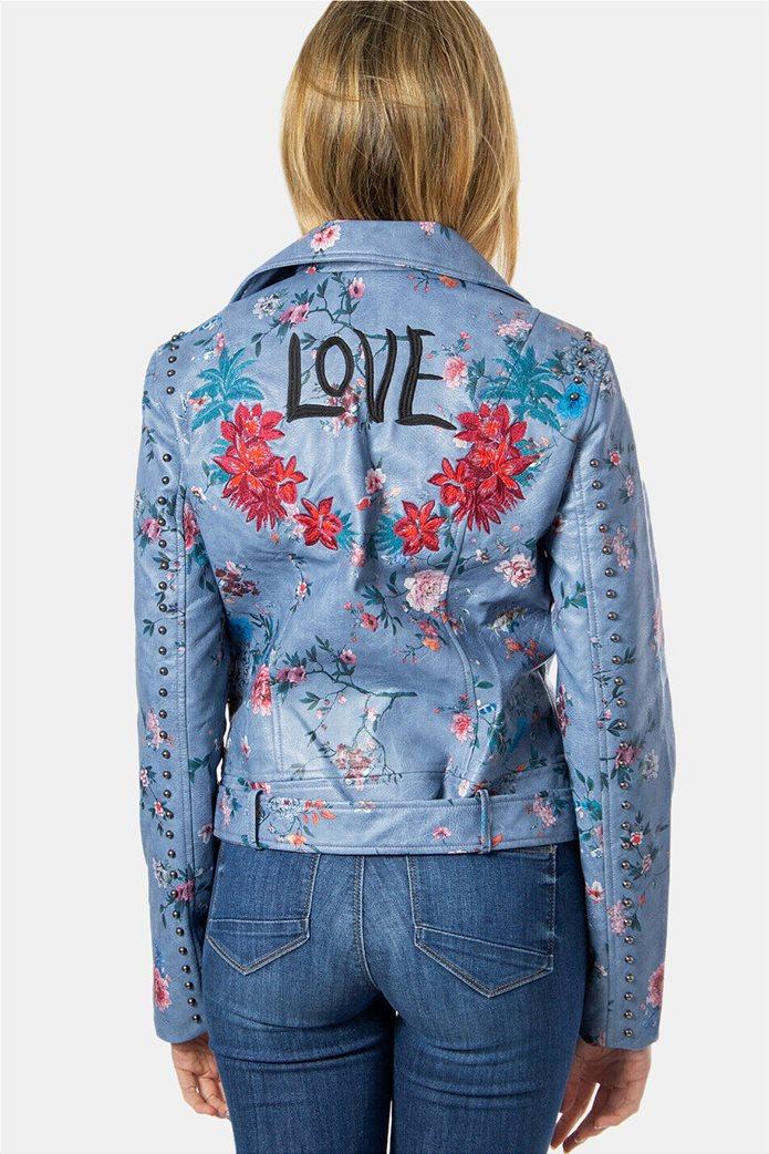 "Desigual γυναικείο floral jacket ""Nassau"" 2"