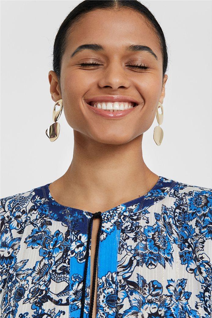 "Desigual γυναικεία μπλούζα με flower print ""Atenas"" 5"