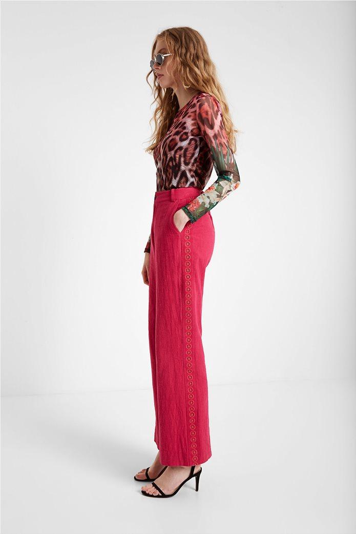 "Desigual γυναικεία μπλούζα με leopard print ""Jungla"" 1"