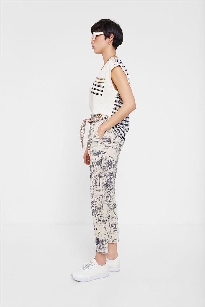 "Desigual γυναικεία μπλούζα με διάτρητο σχέδιο στην πλάτη ""Verona"" 3"