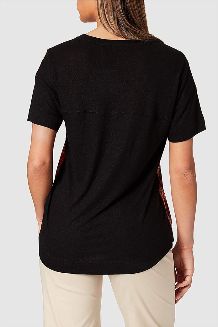"Desigual γυναικεία μπλούζα με boho print ""Lombok"" 2"