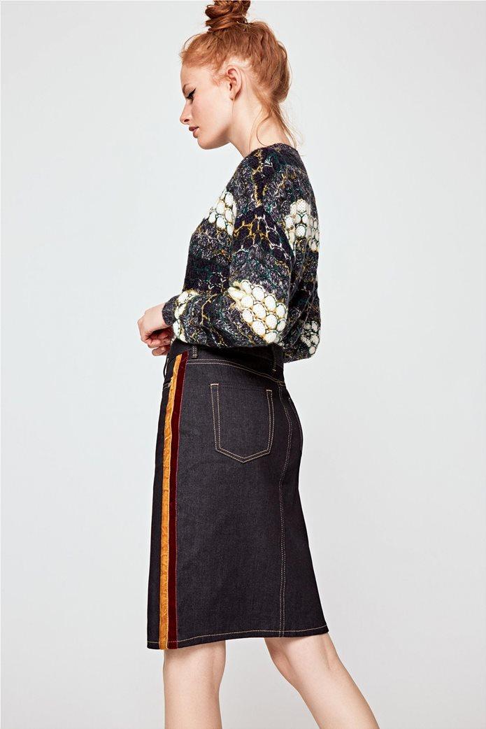 Pepe Jeans γυναικεία φούστα jean Dinah Velvet Tape 3