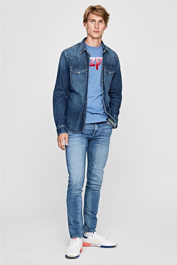 Pepe Jeans ανδρικό τζην παντελόνι Hatch L34 1