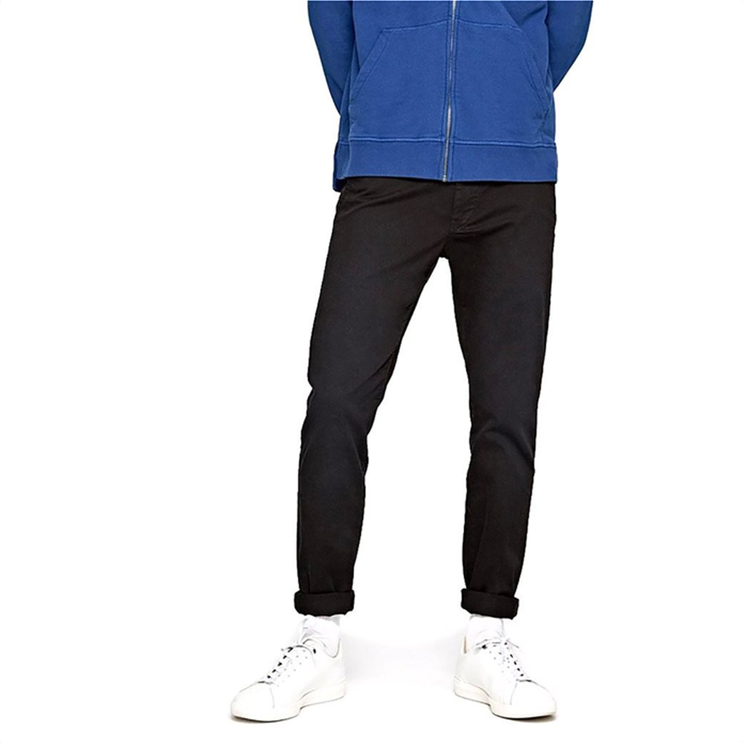 Pepe Jeans ανδρικό παντελόνι chino Slim fit Charly L32 Μπλε Σκούρο 2