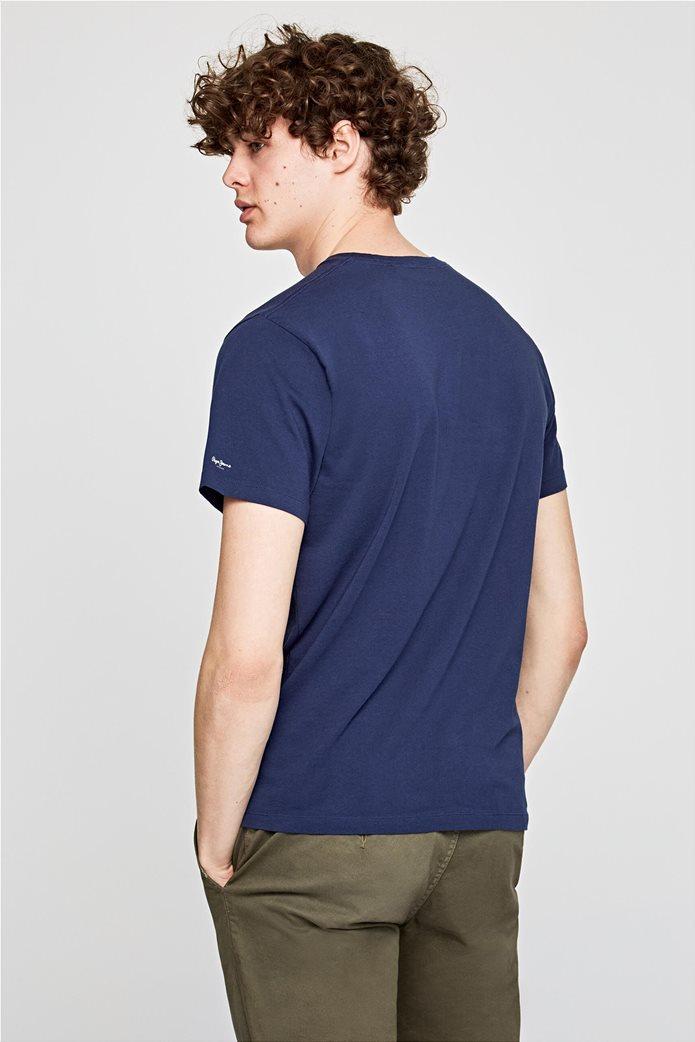 Pepe Jeans ανδρικό T-shirt κοντομάνικο με logo print 3