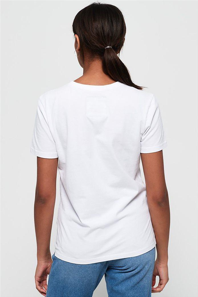Superdry γυναικείο T-shirt με τύπωμα ουράνιου τόξου 3