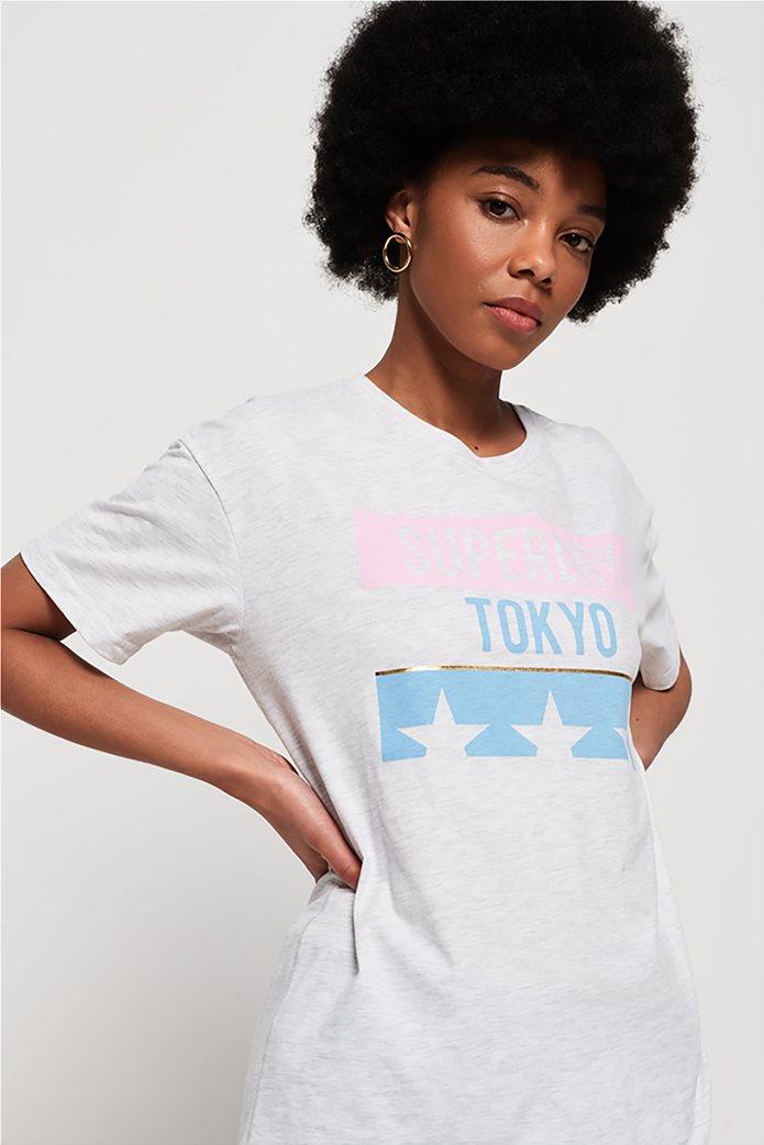 Superdry γυναικείο T-shirt Tokyo Stars Portland 1