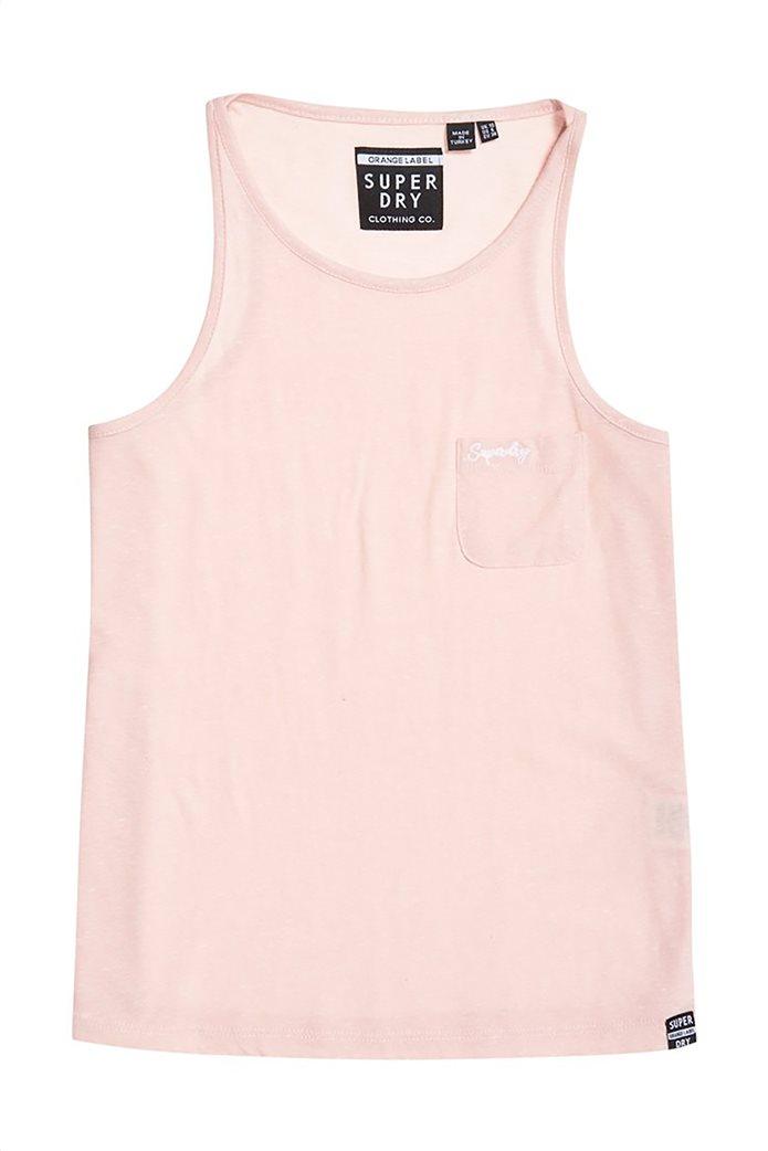 Superdry γυναικεία μπλούζα αμάνικη Orange Label Essential 4