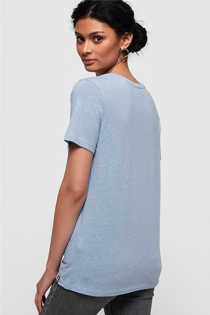 Superdry γυναικείο T-shirt με λαιμόκοψη V Orange Label Essential 3