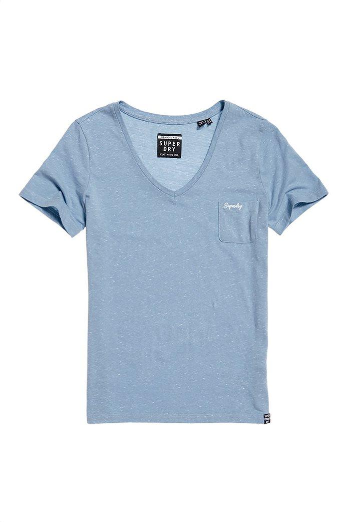 Superdry γυναικείο T-shirt με λαιμόκοψη V Orange Label Essential 4