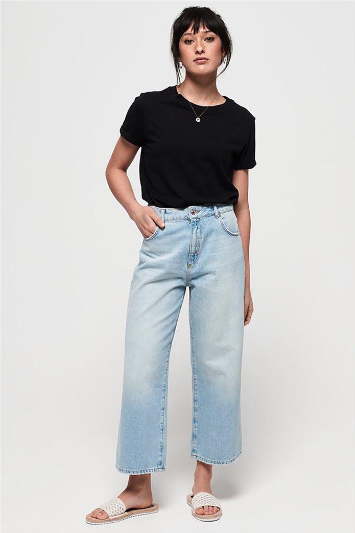Superdry γυναικείο T-shirt με στρογγυλή λαιμόκοψη Premium Modal 2