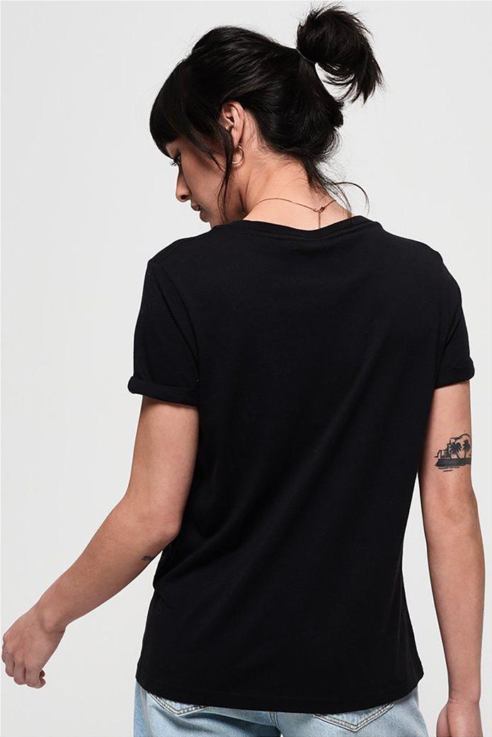 Superdry γυναικείο T-shirt με στρογγυλή λαιμόκοψη Premium Modal 3