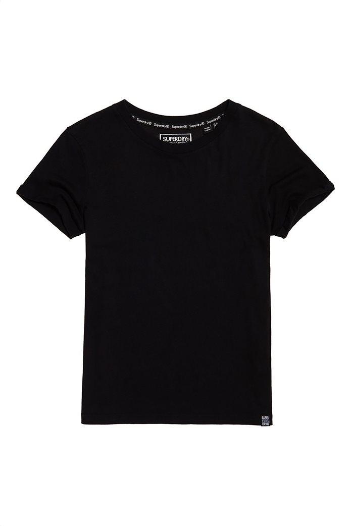 Superdry γυναικείο T-shirt με στρογγυλή λαιμόκοψη Premium Modal 4