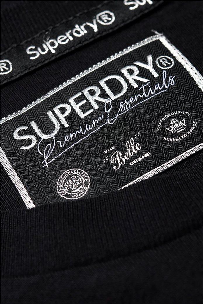 Superdry γυναικείο T-shirt με στρογγυλή λαιμόκοψη Premium Modal 5