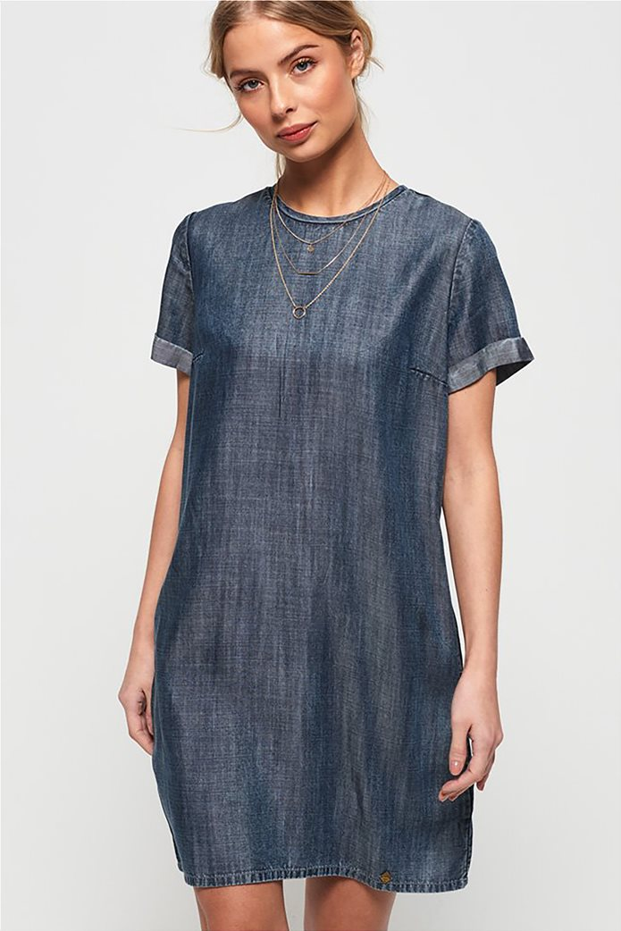 Superdry γυναικείο denim φόρεμα Shay 0