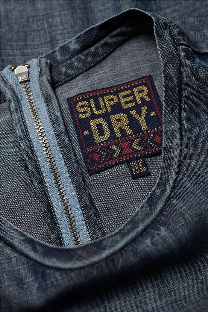 Superdry γυναικείο denim φόρεμα Shay 5