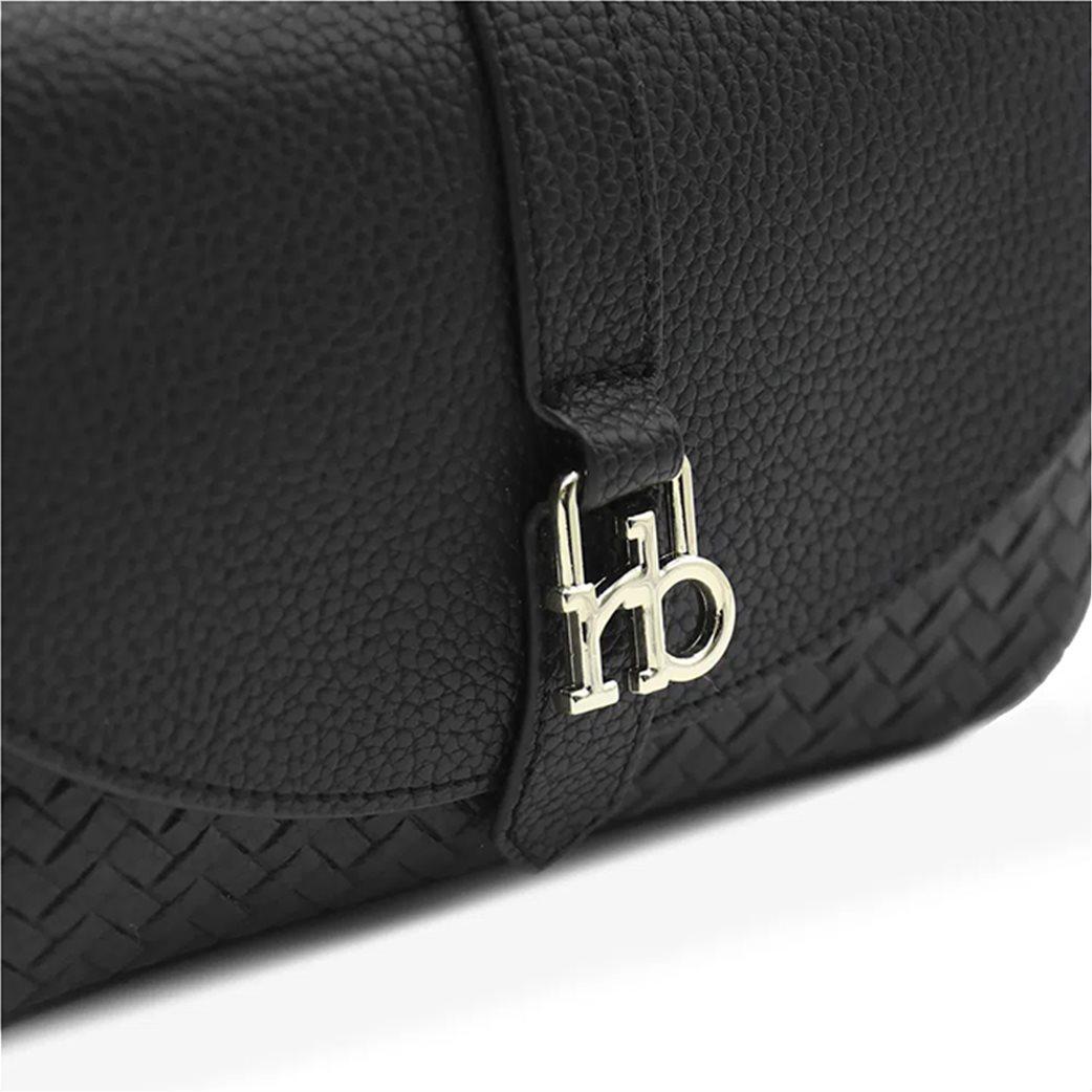 Rocobarocco γυναικεία crossbody τσάντα με μεταλλικό logo 2