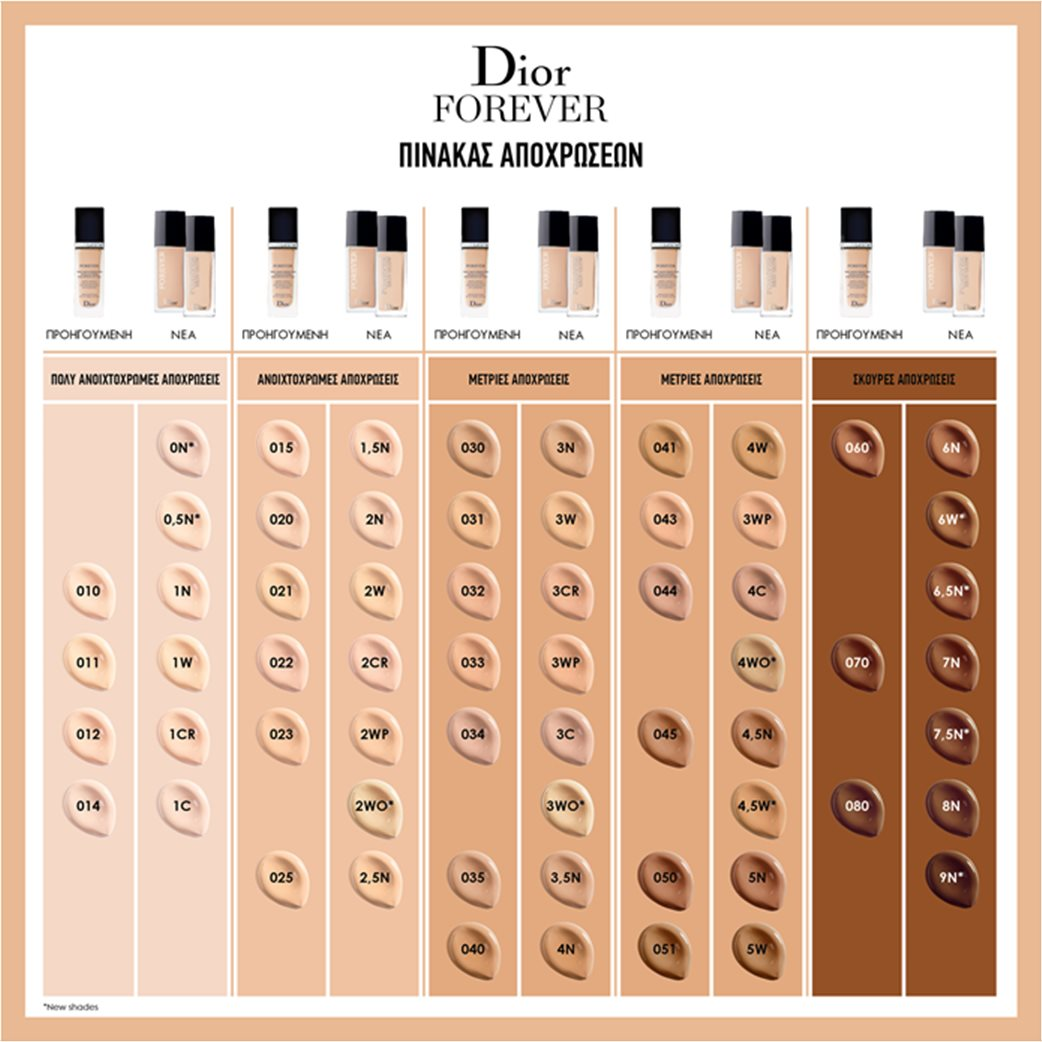 Dior Forever 3 Warm 2