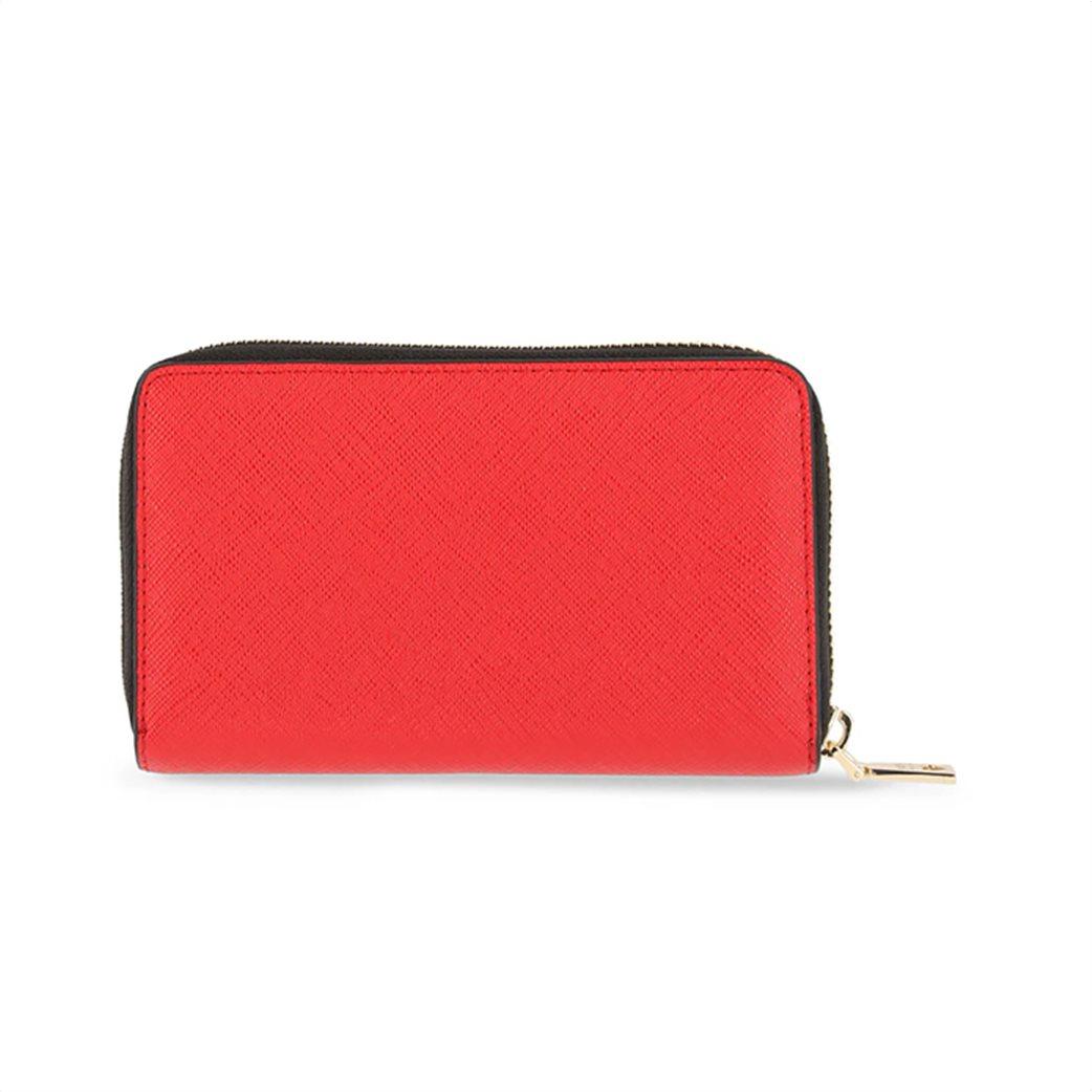 Love Moschino γυναικείo πορτοφόλι με μικρό μεταλλικό logo 1