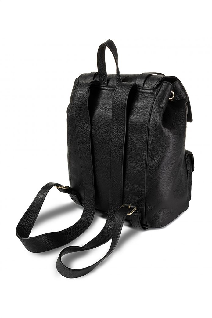 Love Moschino γυναικείo backpack με τρουκς και εξωτερικές τσέπες 1