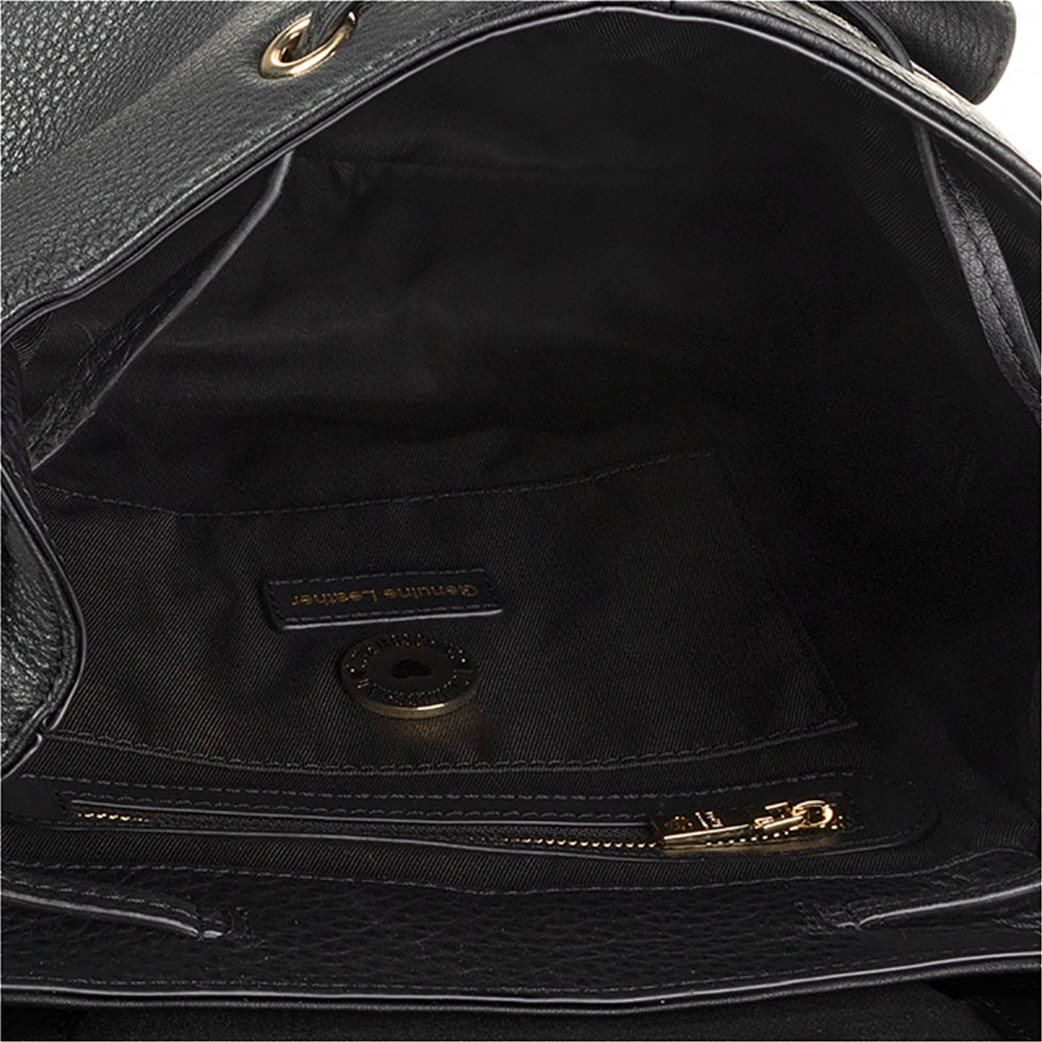 Love Moschino γυναικείo backpack με τρουκς και εξωτερικές τσέπες 2
