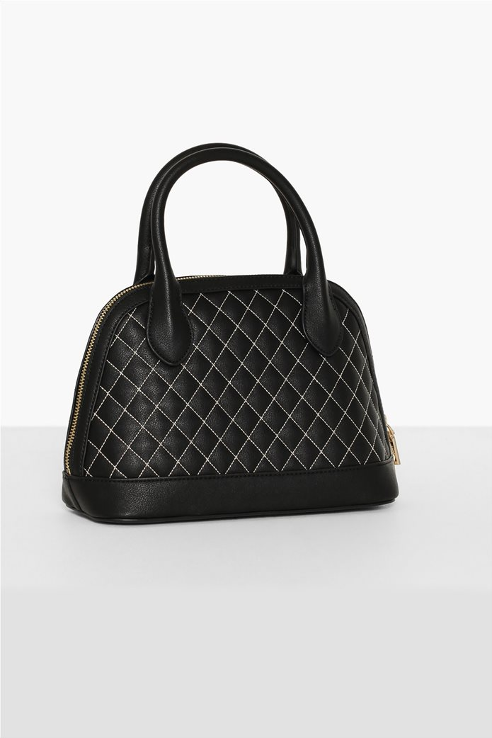 Love Moschino γυναικεία τσάντα χειρός καποτινέ με κεντημένο logo 1