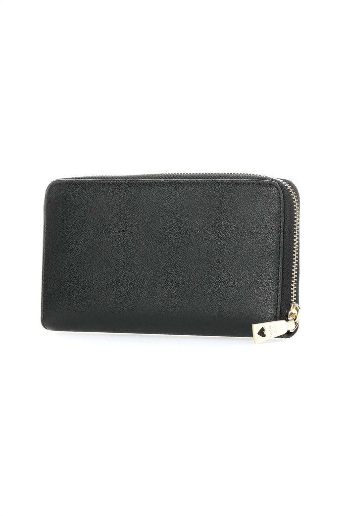 Love Moschino γυναικείo πορτοφόλι με τρουκς και μεταλλικό logo 1