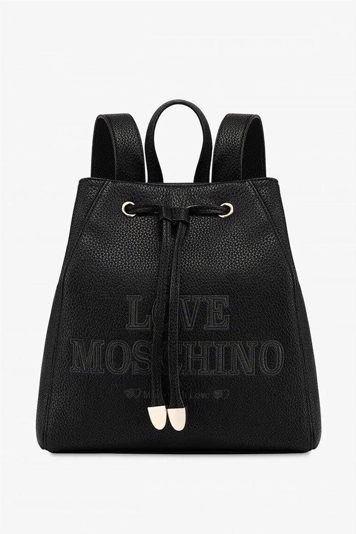 Love Moschino γυναικείο backpack με κεντημένο logo 0