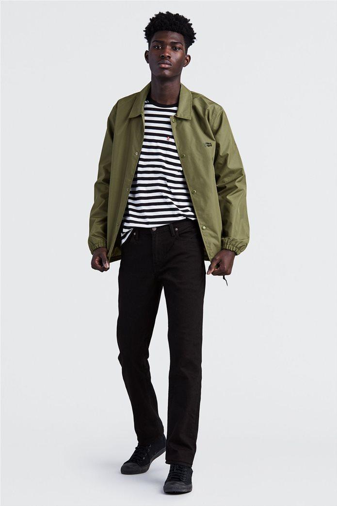 Levi's ανδρικό παντελόνι μαύρο τζην 511™ Slim Fit  (32L) 0