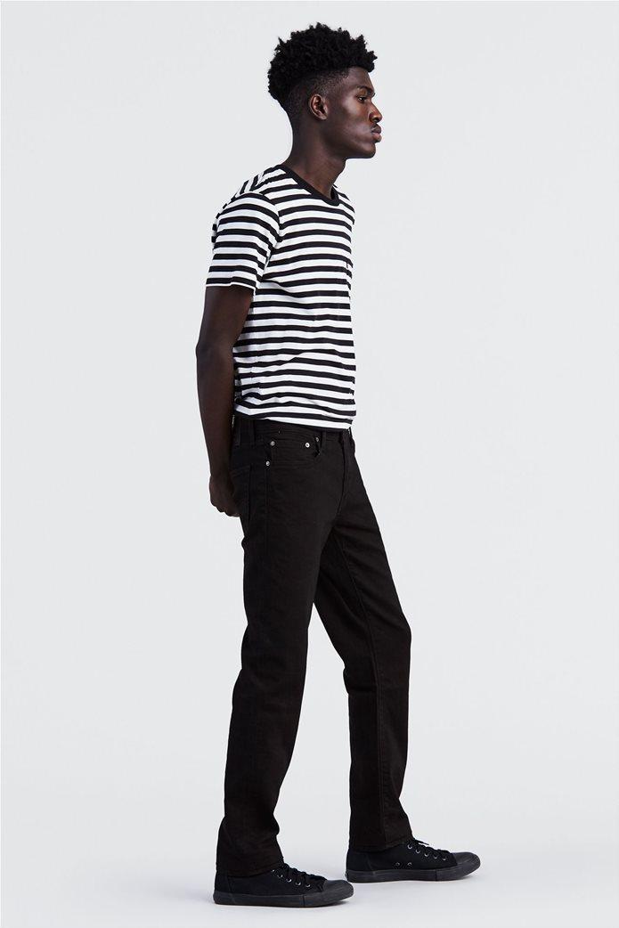 Levi's ανδρικό παντελόνι μαύρο τζην 511™ Slim Fit  (32L) 1