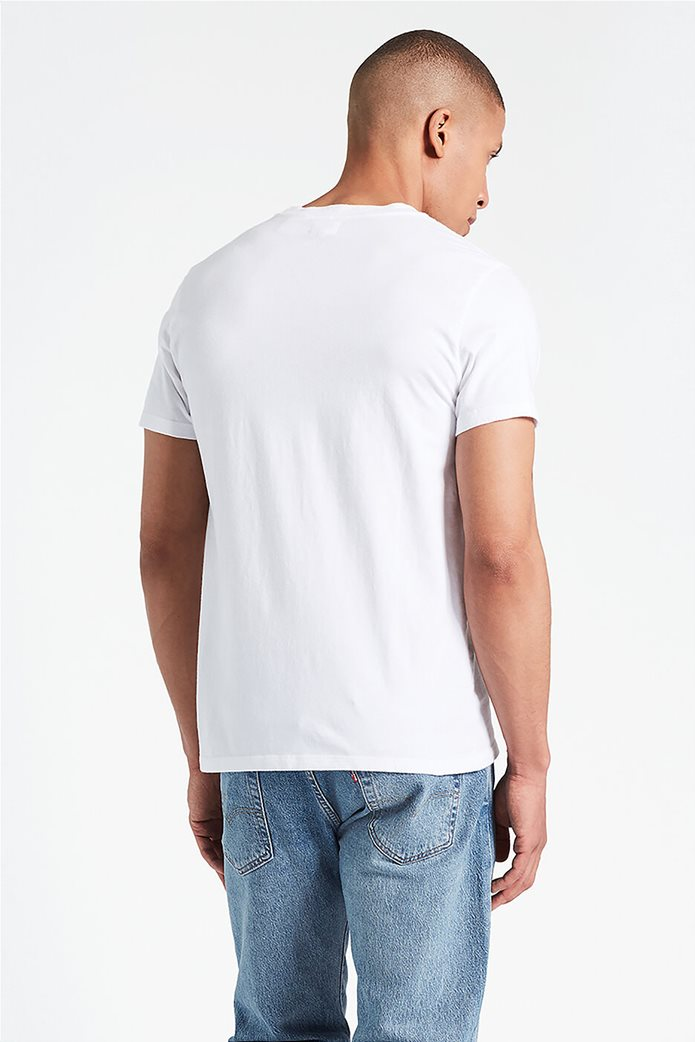 Levi's ανδρικό T-shirt Original Hm Άσπρο 1