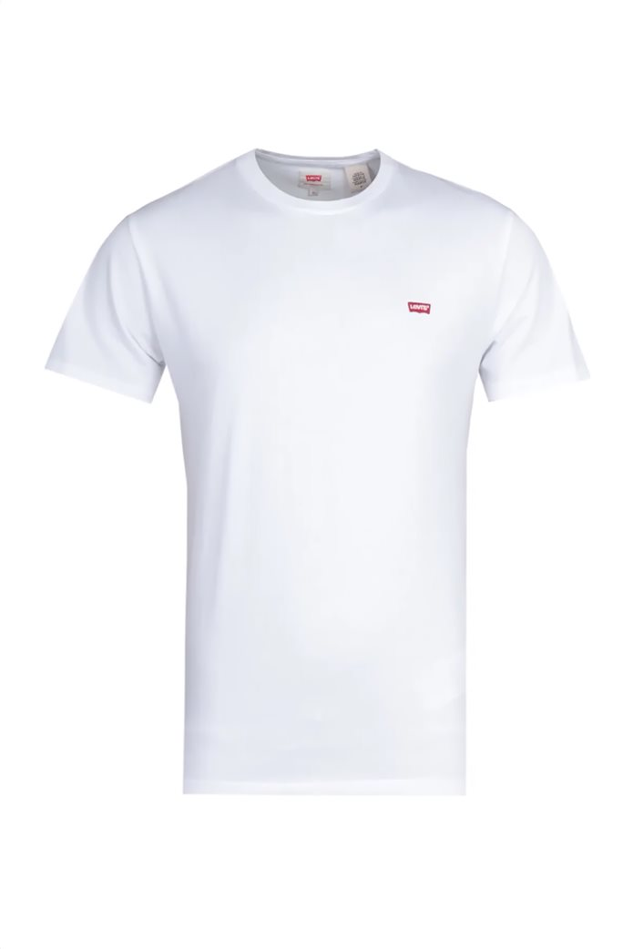 Levi's ανδρικό T-shirt Original Hm Άσπρο 2