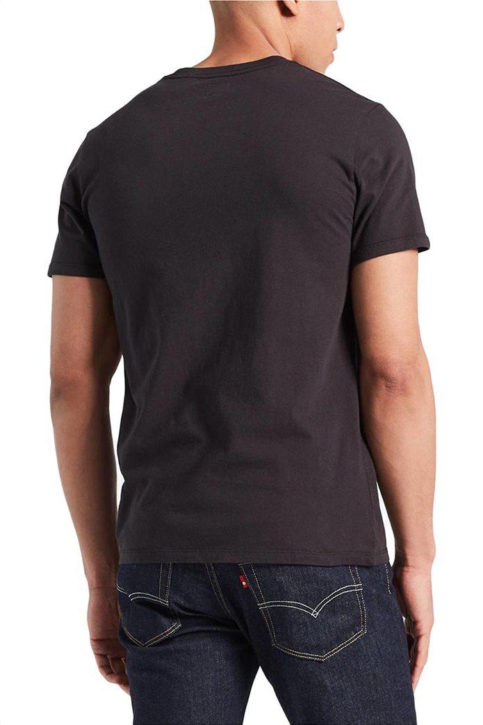 Levi's ανδρικό T-shirt μαύρο Original Hm Μαύρο 1
