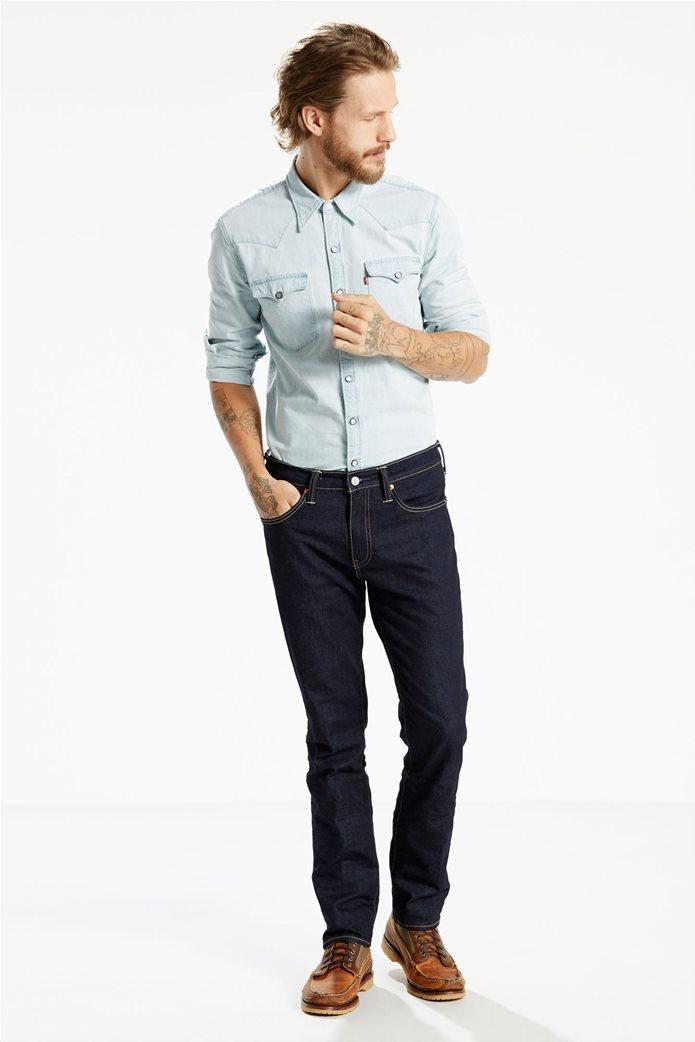 Levi's ανδρικό τζην παντελόνι μπλε σκούρο 511™ Slim Fit (34L) 0
