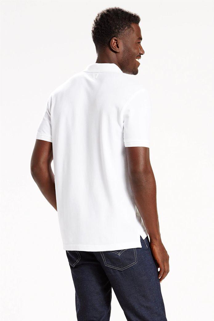Levi's ανδρική μπλούζα polo με κεντημένο λογότυπο 1