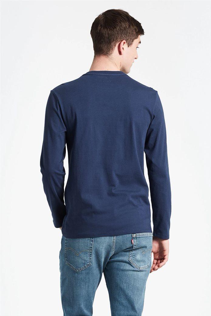 Levi's ανδρικό μπλουζάκι μακρυμάνικο με κεντημένο λογότυπο 1