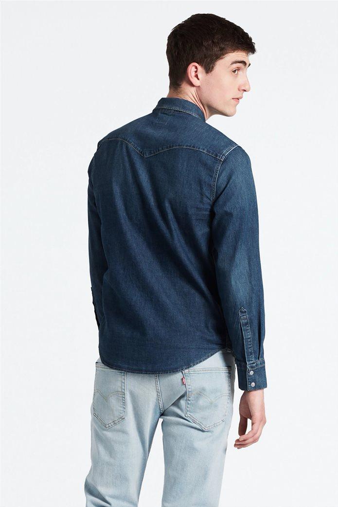 Levi's ανδρικό τζην πουκάμισο Barstow Wester Hemd 1