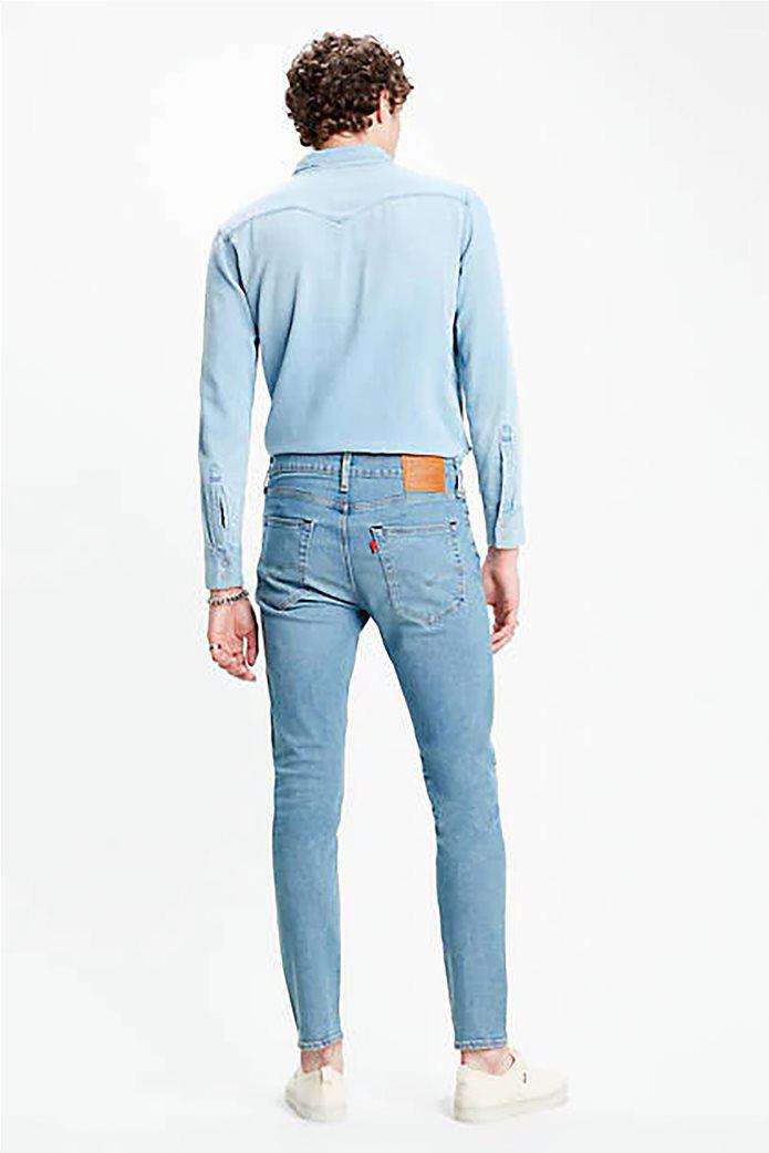 Levi's® ανδρικό τζην παντελόνι 512™ Slim Taper fit 32L Μπλε Ανοιχτό 1