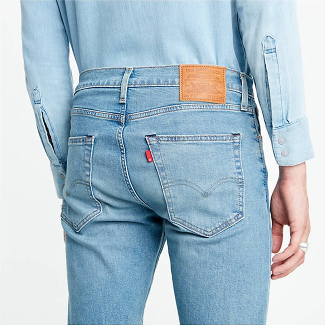 Levi's® ανδρικό τζην παντελόνι 512™ Slim Taper fit 32L Μπλε Ανοιχτό 3