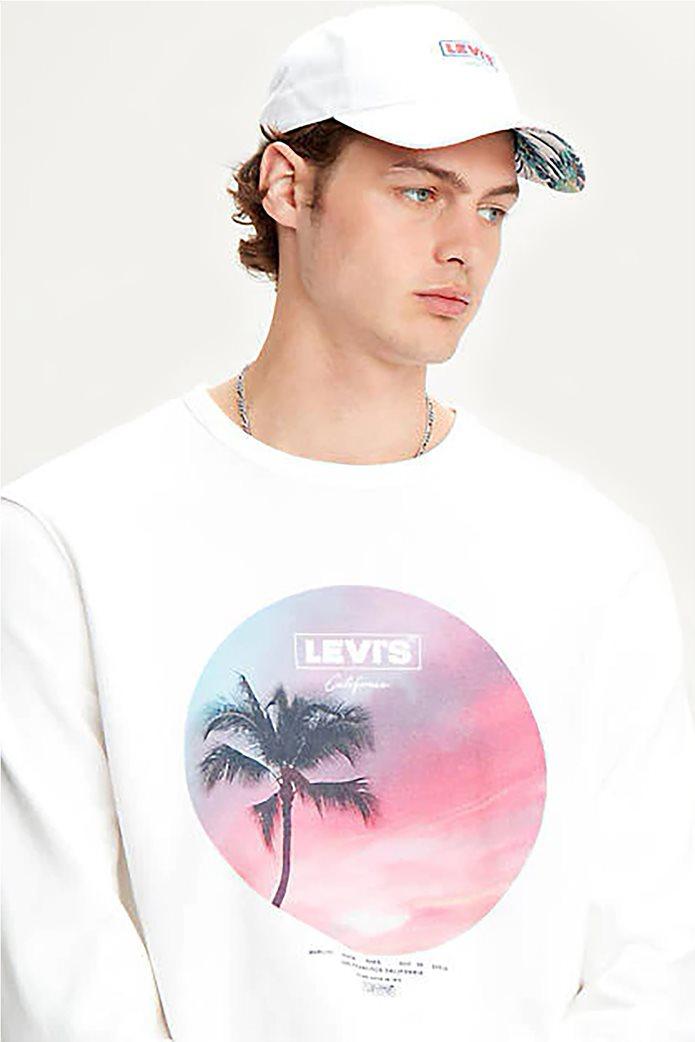 "Levi's® ανδρικό φούτερ ""Graphic Crew B"" 2"