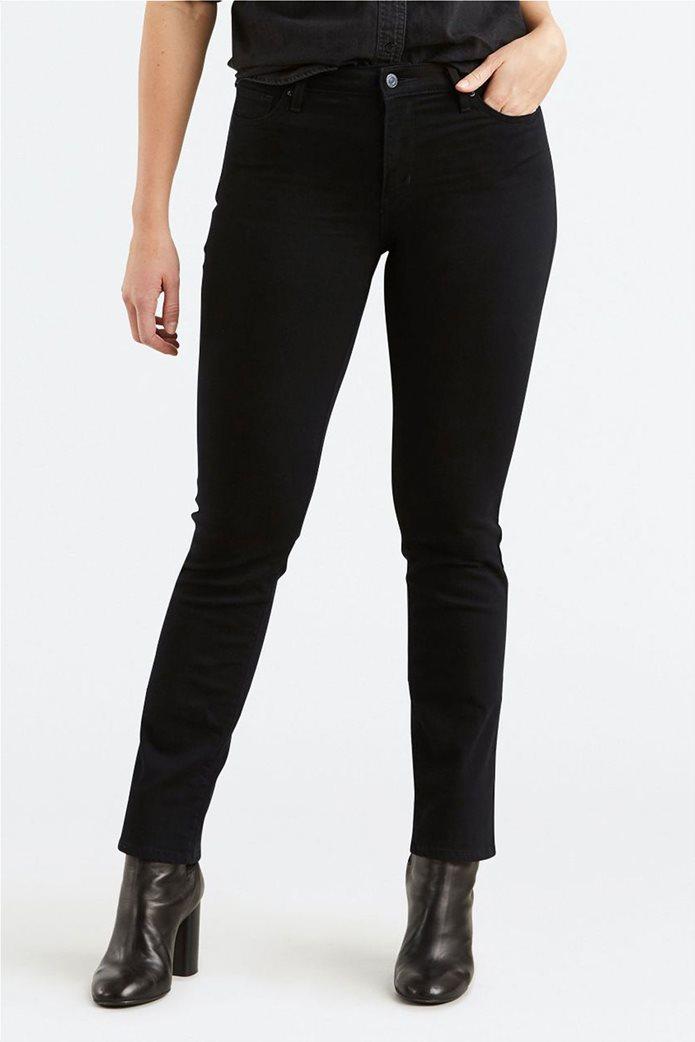 Levi's γυναικείο παντελόνι 712 Slim (32L) Μαύρο 0