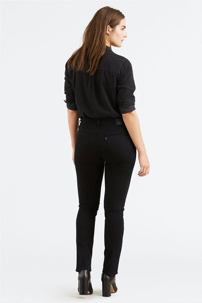 Levi's γυναικείο παντελόνι 712 Slim (32L) Μαύρο 3
