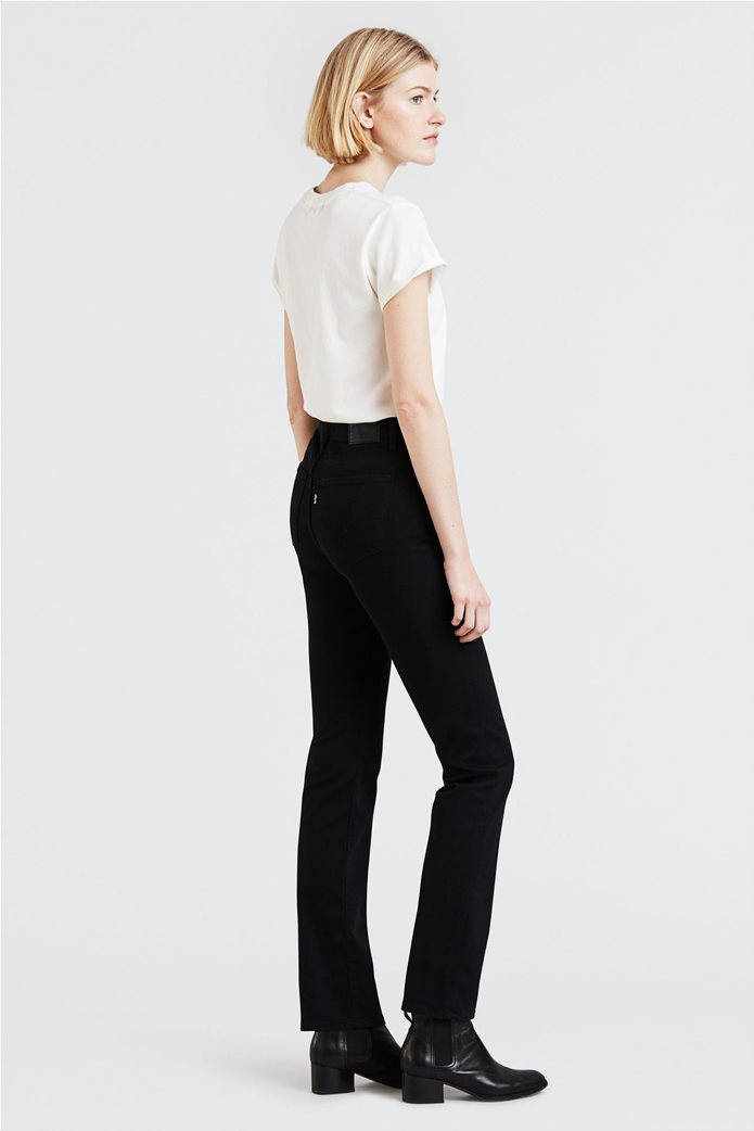"Levi's γυναικείο τζην παντελόνι ""724 High Rise Straight"" (32L) Μαύρο 0"
