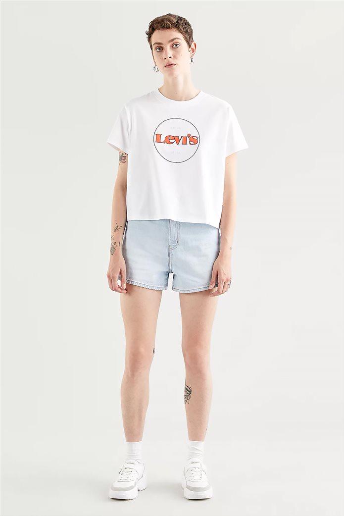 "Levi's® γυναικείο T-shirt με logo print ""Varsity"" 0"